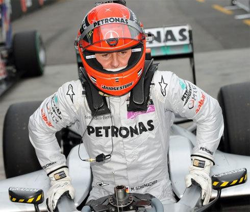 Michael Schumacher hay nhất F1 thế giới 10 năm qua