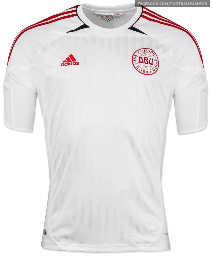 Áo thi đấu Euro 2012 - đội tuyển Đan Mạch