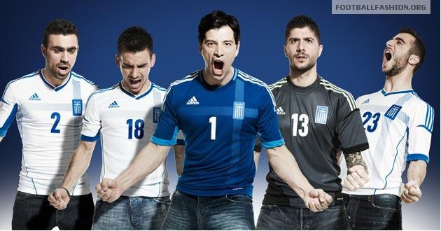 Áo thi đấu Euro 2012 - đội tuyển Hy Lạp