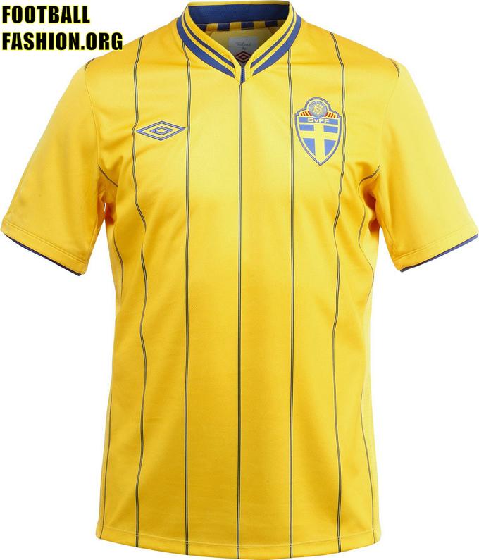 Áo thi đấu Euro 2012 - đội tuyển Thụy Điển