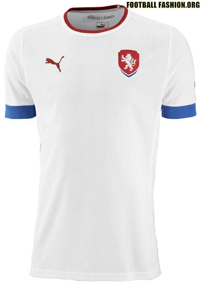 Áo thi đấu Euro 2012 - đội tuyển Cộng hòa Czech