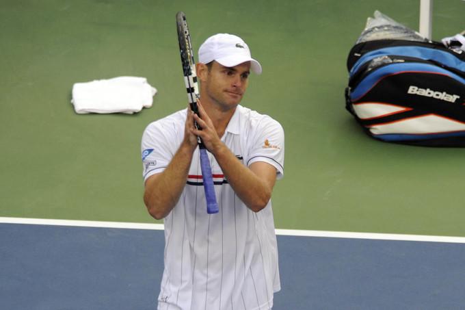 Andy Roddick khóc trong phút chia tay quần vợt
