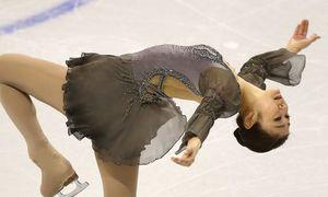 """'Nữ hoàng trượt băng"""" Hàn Quốc tỏa sáng"""
