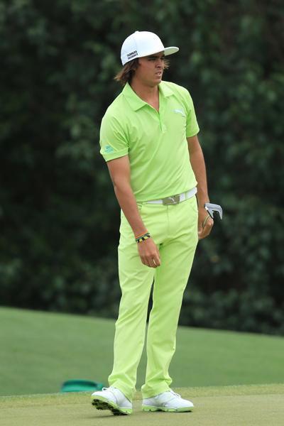 Phong cách thời trang tệ hại ở Masters 2013