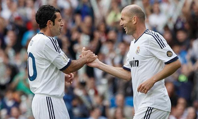 Bernabeu dậy sóng đón Zidane, Figo, Collina