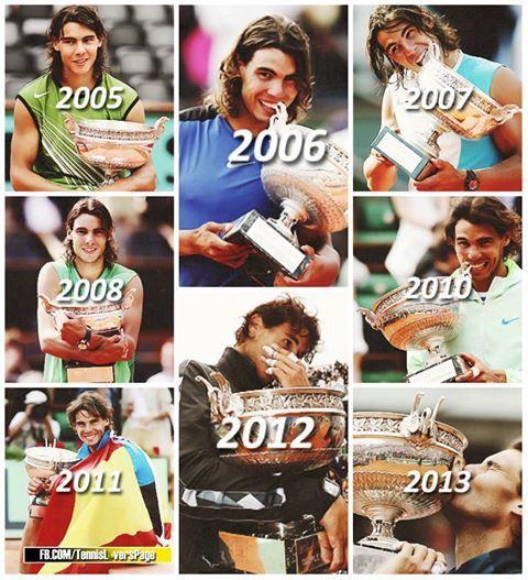 Những khoảnh khắc trở thành huyền thoại Grand Slam của Nadal