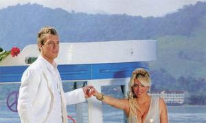 Đám cưới lần hai lãng mạn của vợ chồng Maxi Lopez