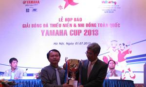 32 đội bóng dự vòng chung kết giải Thiếu niên - Nhi đồng toàn quốc 2013