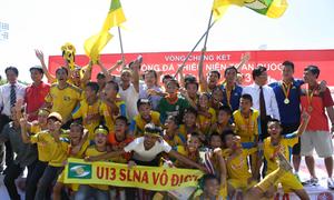 SLNA vô địch U13 quốc gia