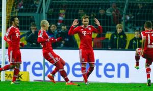 Dortmund 0-3 Bayern: Hùm xám mở hội
