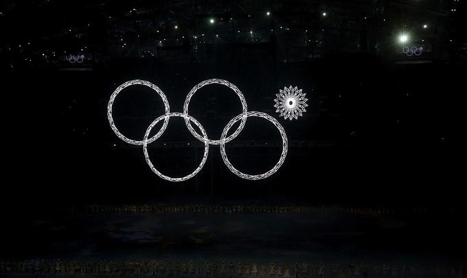 Khai mạc Sochi 2014 vấp sự cố xếp vòng Olympic