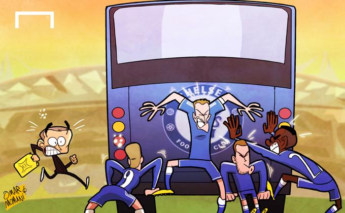 'Xe bus hết xăng, mùa giải của Chelsea trôi vào bồn cầu'