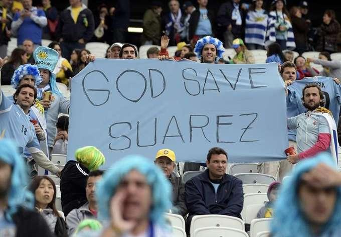 Tuyển Anh cúi đầu trước bệnh binh Suarez