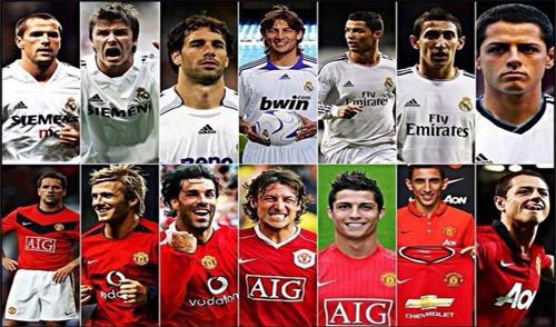 Mối lương duyên Man Utd - Real Madrid