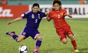 Tuyển nữ Việt Nam - Nhật Bản: Châu chấu đá xe