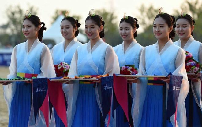 Nét đẹp Hàn Quốc ở ASIAD 17