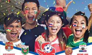 Tặng độc giả vé xem Giải bóng đá Toyota Mekong Cup Championship