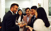 Beckham giao lưu với người hâm mộ tại Hà Nội