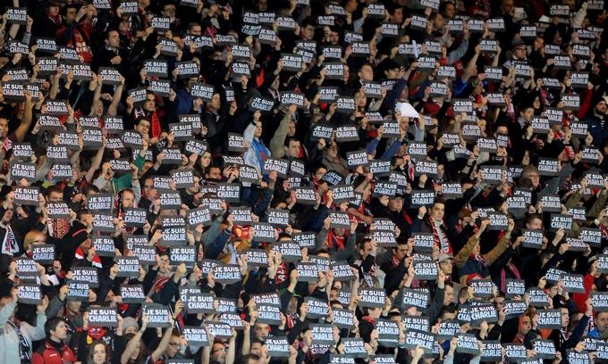 Thể thao Pháp tưởng nhớ nạn nhân vụ khủng bố Charlie Hebdo