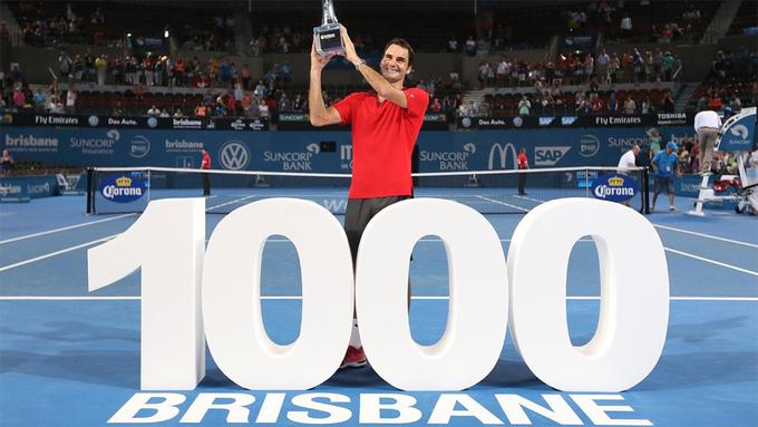 Federer và những cột mốc đến chiến thắng thứ 1000