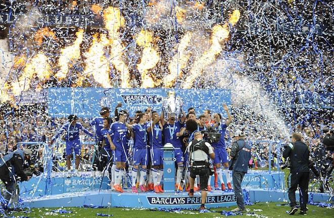 Chelsea lần thứ tư đăng quang ở Ngoại hạng Anh