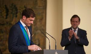 Casillas nhận huân chương Hoàng gia