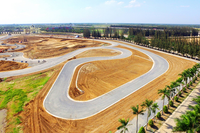 Trường đua Moto GP thu nhỏ tại Việt Nam