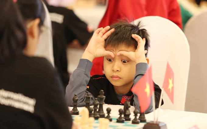 Lứa măng non của Việt Nam ở giải cờ vua quốc tế 2016
