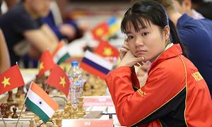 Vợ Trường Sơn có cơ hội vô địch nữ giải HDBank