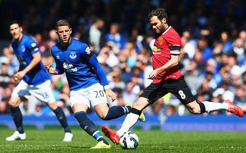 Everton và Man Utd đều mong cứu vãn mùa giải ở Cup FA.