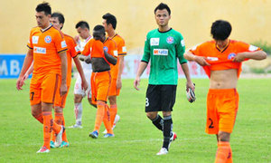 VFF phạt Đà Nẵng sau cơn mưa thẻ phạt trận gặp Bình Dương
