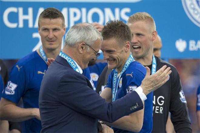 Leicester City xếp thứ sáu về tính thuyết phục khi vô địch Anh