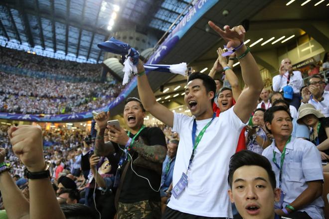 CĐV Việt ở chung kết Champions League