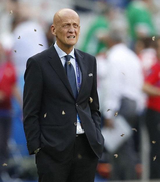 Bướm đêm đại náo chung kết Euro 2016
