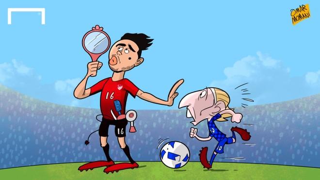 20 bức biếm hoạ kể lại câu chuyện Euro 2016 - ảnh thể thao