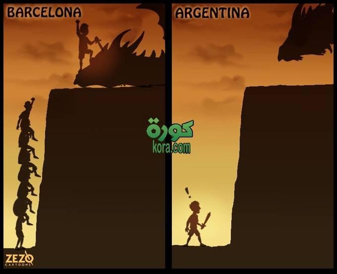 Sự khác nhau giữa Messi ở hai đội Barca và tuyển Argentina