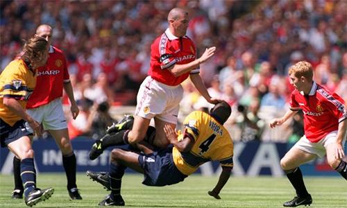 Keane và Vieira: Trời sinh một cặp ở đại chiến Man Utd - Arsenal