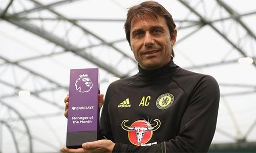 Chelsea thâu tóm các danh hiệu của Ngoại hạng Anh trong tháng 10