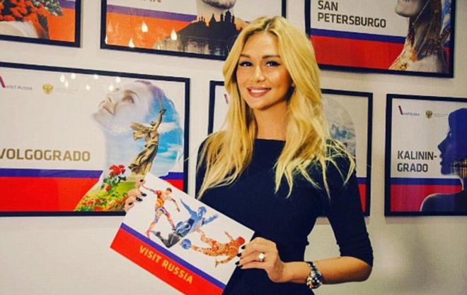 Hoa hậu Nga làm đại sứ quảng bá World Cup 2018