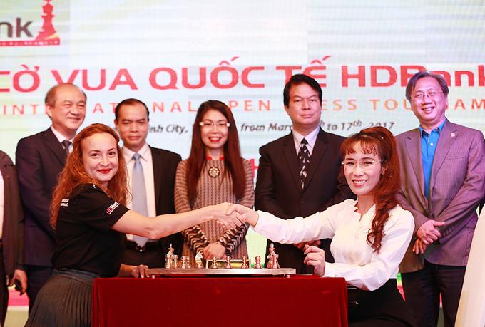Khai mạc giải cờ vua quốc tế HDBank