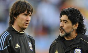 Maradona cầu viện Chủ tịch FIFA giảm án cho Messi