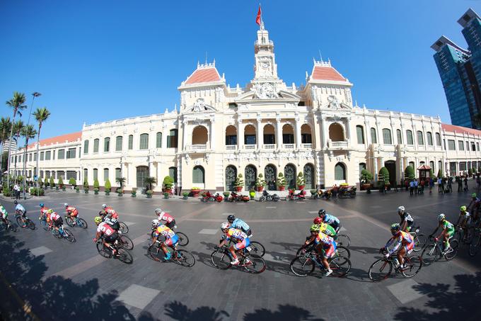 Giải đua xe đạp Cup Truyền hình TP HCM khởi tranh