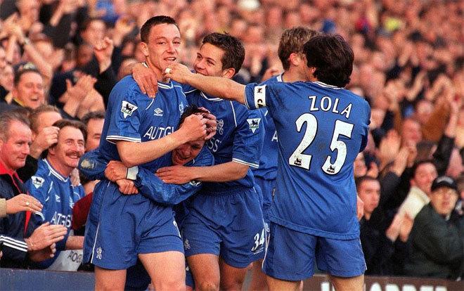 Những bức ảnh ghi dấu ấn của Terry tại Chelsea