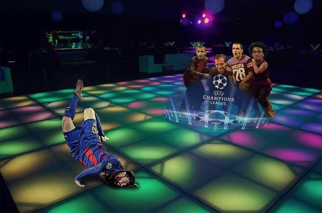 Pha ngã sấp mặt của Messi trở thành đề tài chế giễu