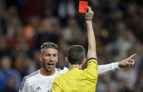Real Madrid sẽ kháng án về thẻ đỏ của Ramos