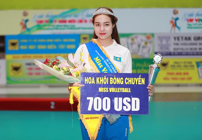 VĐV Kazakhstan trở thành Hoa khôi giải bóng chuyền nữ quốc tế