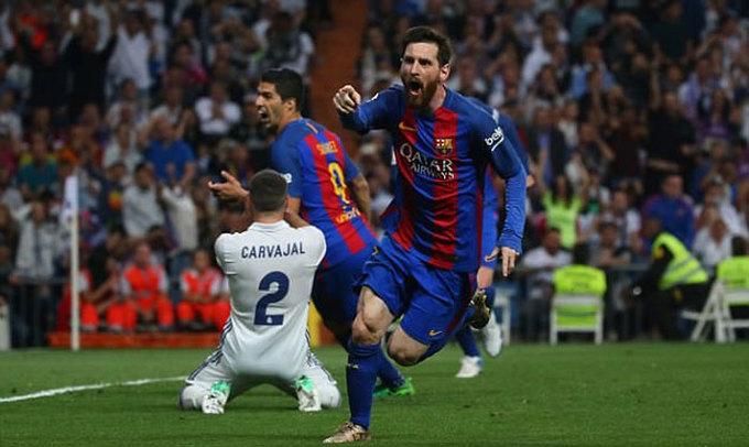 Messi lần hiếm hoi giành giải Cầu thủ hay nhất tháng tại La Liga
