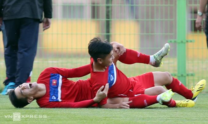 U20 Việt Nam tươi cười trước trận ra quân ở World Cup