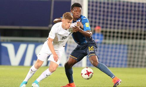 New Zealand thắng đậm Honduras ở U20 World Cup