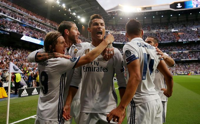 Những con số xung quanh trận Juventus - Real Madrid